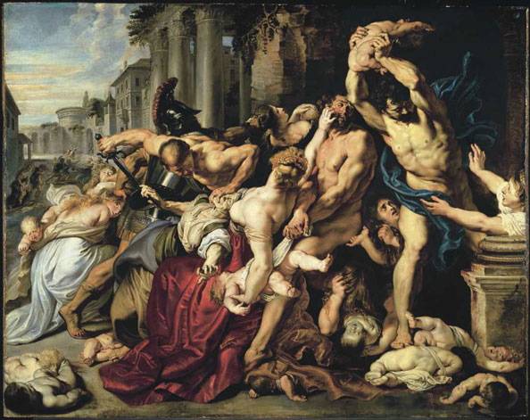 Rubens, Peter Paul. The Massacre of the Innocents | AGO Art ...