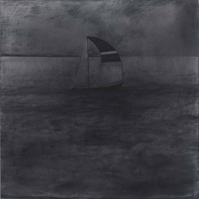 Silke Otto-Knapp, Sailboat, 2012