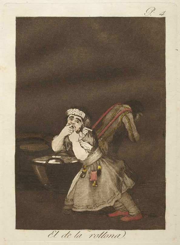 Francisco Goya y Lucientes. Nanny's boy, 1799