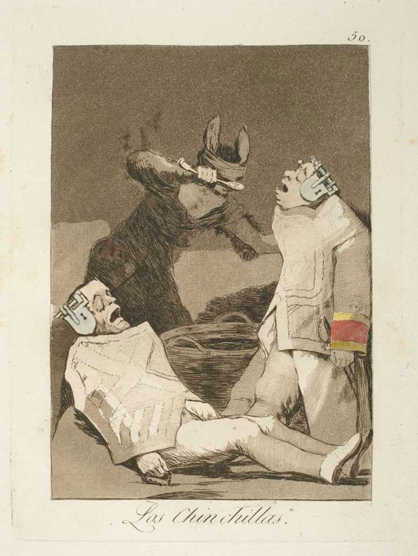 Francisco Goya y Lucientes. The Chinchillas, 1799