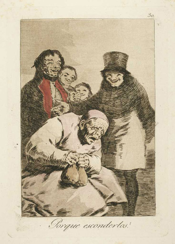 Francisco Goya y Lucientes. Why hide them?, 1799