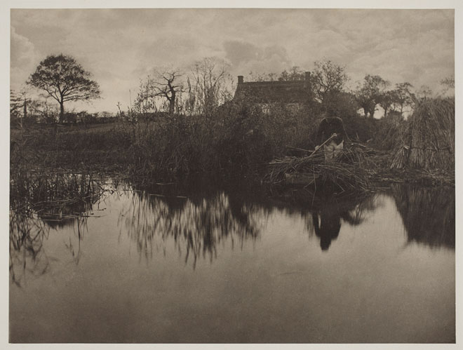 Peter Henry Emerson, Quanting the Gladdon, 1885