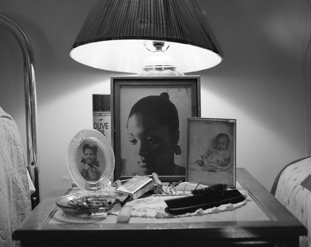 LaToya Ruby Frazier, Aunt Midgie and Grandma Ruby from the series Notion of Family, 2007, gelatin silver print, 50.8 cm x 60.96 cm