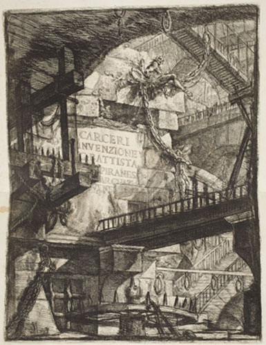 Giovanni Battista Piranesi, Title Plate, 1761