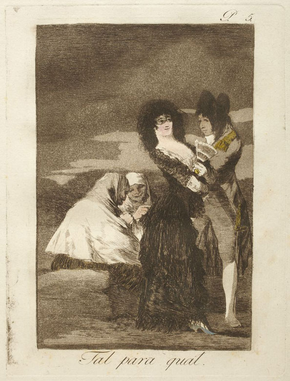 Francisco Goya y Lucientes. Two of a kind, 1799