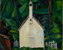 Emily Carr (Canadian, 1871 – 1945), <em>Indian Church</em>, 1929, oil on canvas. Bequest of Charles S. Band, Toronto, 1970.