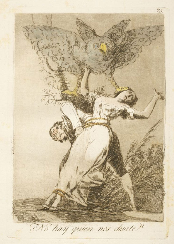 Francisco Goya y Lucientes. Can't anyone untie us?, 1799