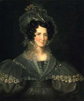 James Bowman, Portrait of Mrs. D'Arcy Boulton Jr., around 1830