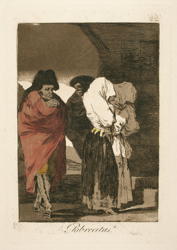 Francisco Goya y Lucientes. Poor little girls!, 1799