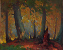 John William Beatty (Canadian, 1869 - 1941), <em>The Beech Woods</em>, date unknown, oil on canvas. Gift of the Canadian NationalExhibition Association, 1965. © 2012 Art Gallery of Ontario.