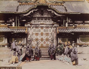 Unknown photographer, Karamon Iyemitsu Temple, Nikko, 1880s