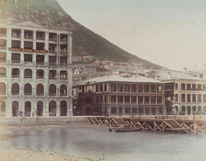 Unknown photographer, Hong Kong Hotel, 1870s