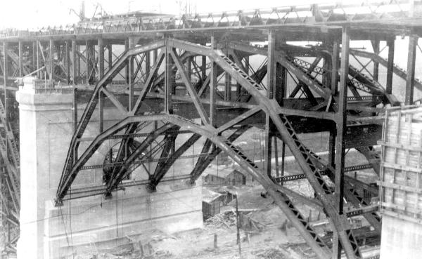 Bloor Street Viaduct, c. 1917-8