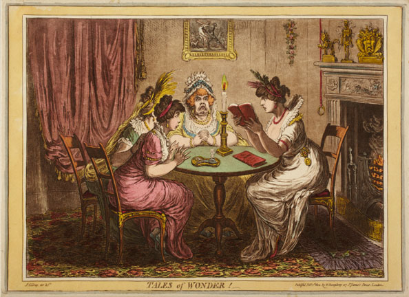 James Gillray. Tales of Wonder, 1802