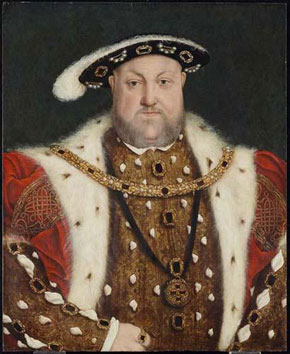 Circle of Hans Holbein the Younger. Portrait of Henry VIII, c. 16th Century