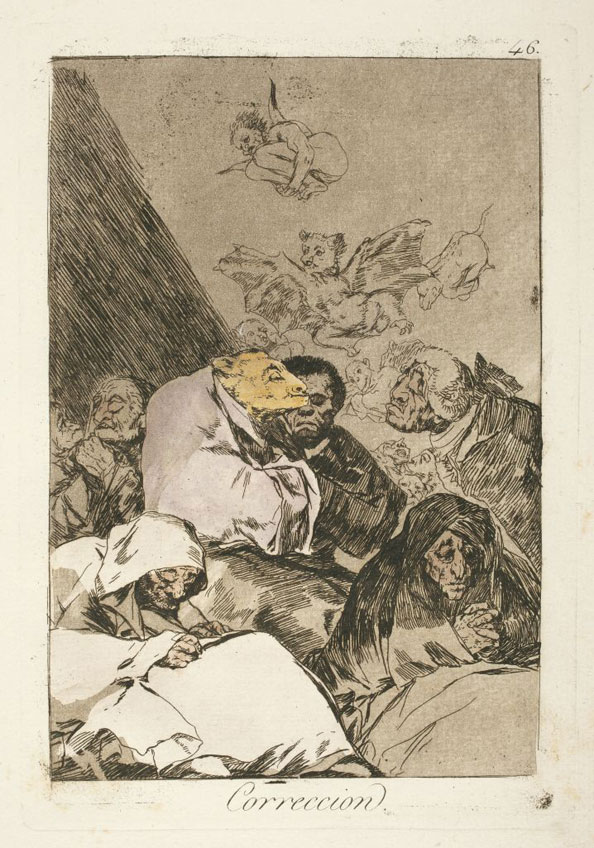 Francisco Goya y Lucientes. Correction, 1799