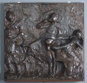 Edgar Degas, Picking Apples, 1890; cast around 1919–1937