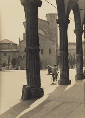 German photographer, Santo Stefano, Florence, (detail), around 1936
