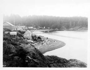 Leonard Frank (photo credit), Village at Friendly Cove, c1920s