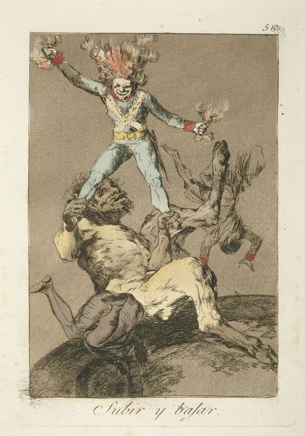 Francisco Goya y Lucientes. To rise and to fall, 1799