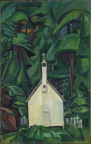 Emily Carr, Indian Church, 1929