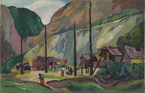 Emily Carr, Hagwilgate, 1912–1913