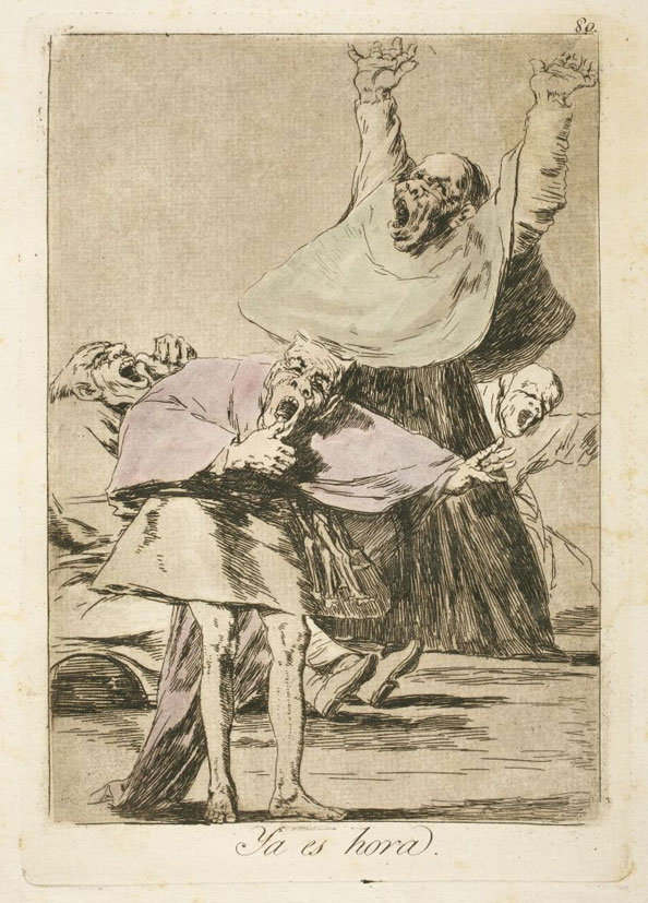 Francisco Goya y Lucientes. It is time, 1799