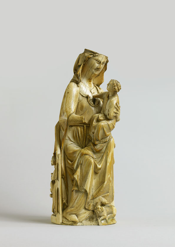 Unknown, France (Paris), Virgin and Child Enthroned, and The Massacre of the Innocents, around 1320–1330