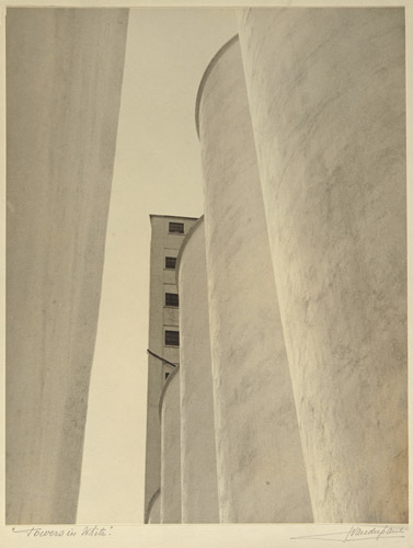 John Vanderpant, No.2, Towers in White
