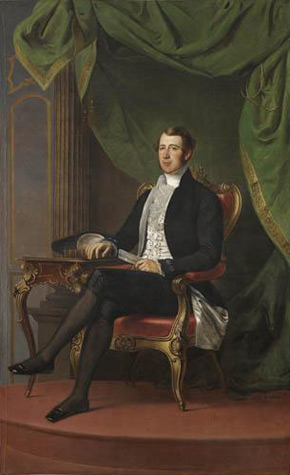 George Theodore Berthon, Portrait of William Henry Boulton, 1846