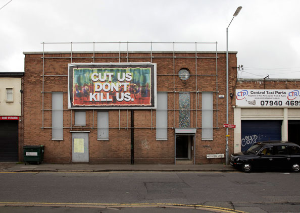 Mark Titchner, CUT US DON'T KILL US, 2010