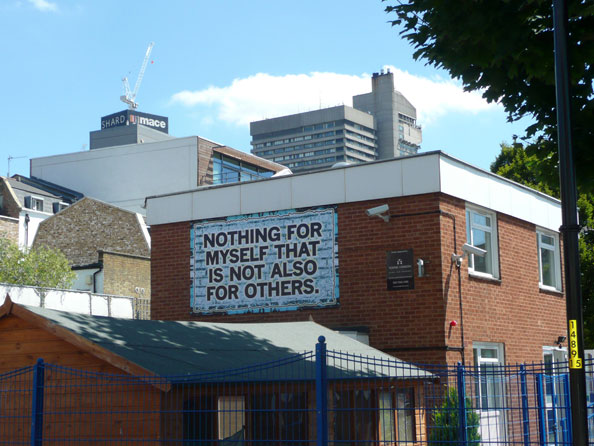 Mark Titchner, MOTTO, 2010