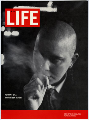 Shawna Dempsey & Lorri Millan, In the Life (Magazine cover), 1995.