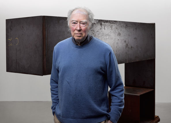 Michael Snow, with Seated Sculpture, 1982