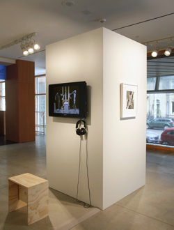 Annie MacDonell, Installation view: <em>The Fortune Teller</em>, Art Gallery of Ontario, 2012. Photo by Dean Tomlinson.