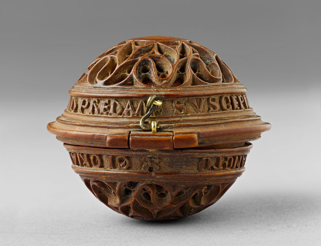 Netherlandish, Prayer Bead (closed view), 1500 – 1530