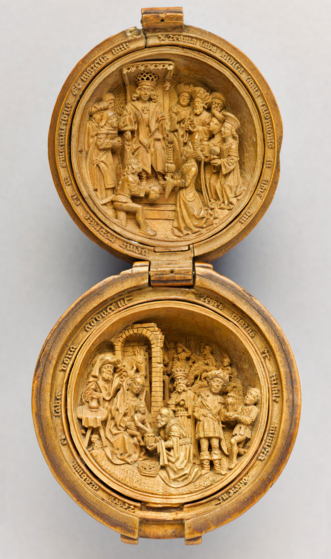 Netherlandish, Prayer Bead (open view), 1500 – 1530