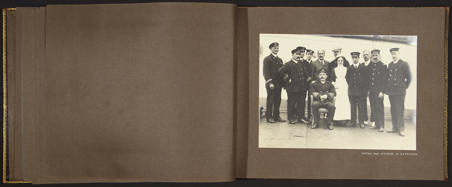 J.C.M. Hayward, Captain and Officers of S.S. Tritonia