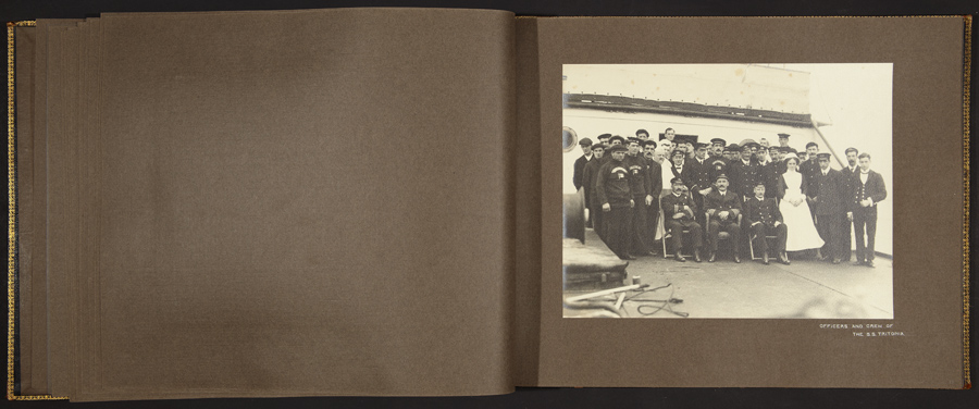 J.C.M. Hayward, Officers and crew of S.S. Tritonia