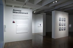 "Annie MacDonell  installation view:<br /> <em>The present is the future of the past and the past of the future (The Fortune Teller)</em>, 2012, 16"" x 12"", chromogenic prints."