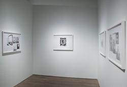 Annie MacDonell, installation view: <em>Picture Collection</em>, 2012, inkjet prints.