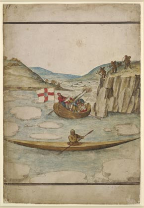 John White British, Representation of Inuit