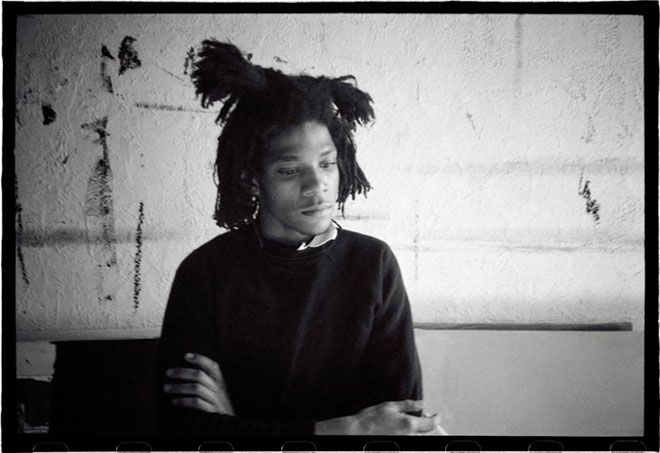 Roland Hagenberg, Basquiat smoking, New York, 1983