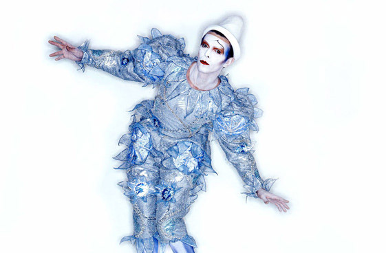Pierrot (or Blue Clown) costume