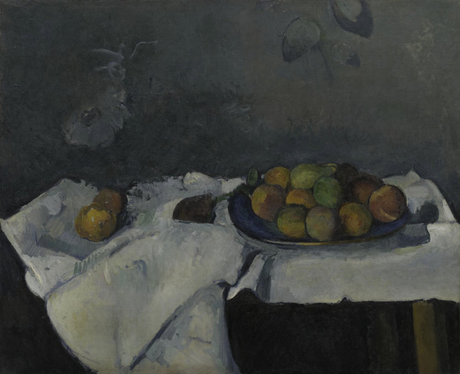 Paul Cézanne, Still Life: Plate of Peaches