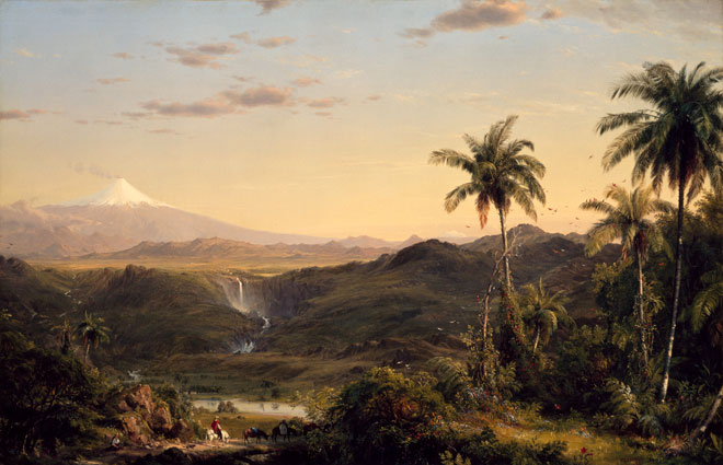 Frederic Edwin Church, Cotopaxi, 1855