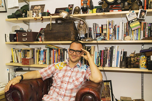 image of Cory Doctorow - courtesy of the AGO
