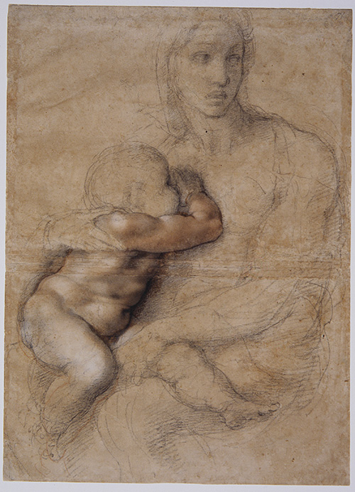 Michelangelo, Madonna and Child