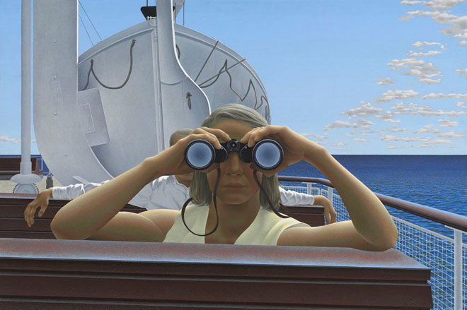 Alex Colville, To Prince Edward Island, 1965