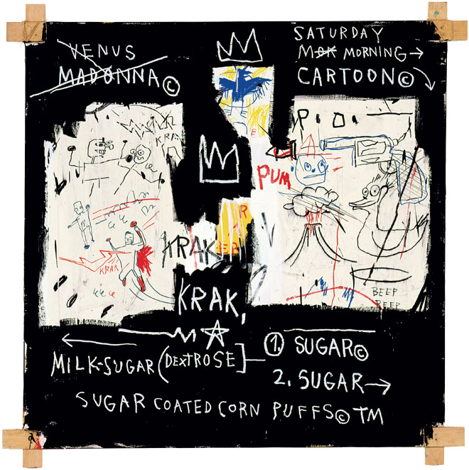 Jean-Michel Basquiat, A Panel of Experts, 1982